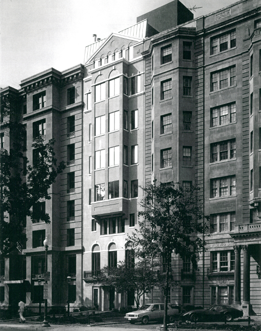 Historic Building Mixed-Use Addition Washinton, DC
