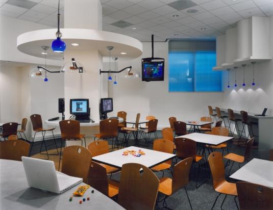 Tysons Corner Office Media Lounge
