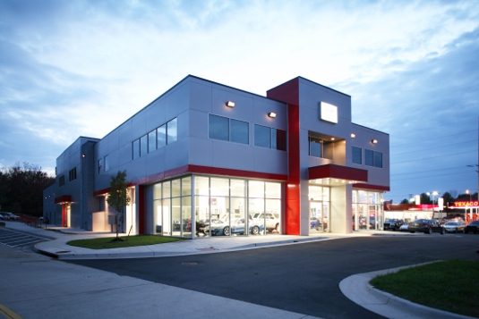 Mixed-USe Car Dealership and Offices