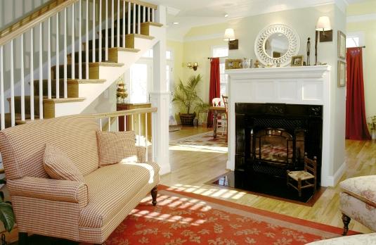 Takoma Park, MD Addition Fireplace