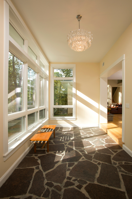 Fairfax, VA Contemporary Foyer Design