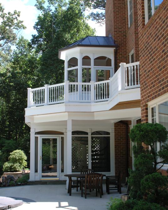 Fairfax, VA Screen Porch