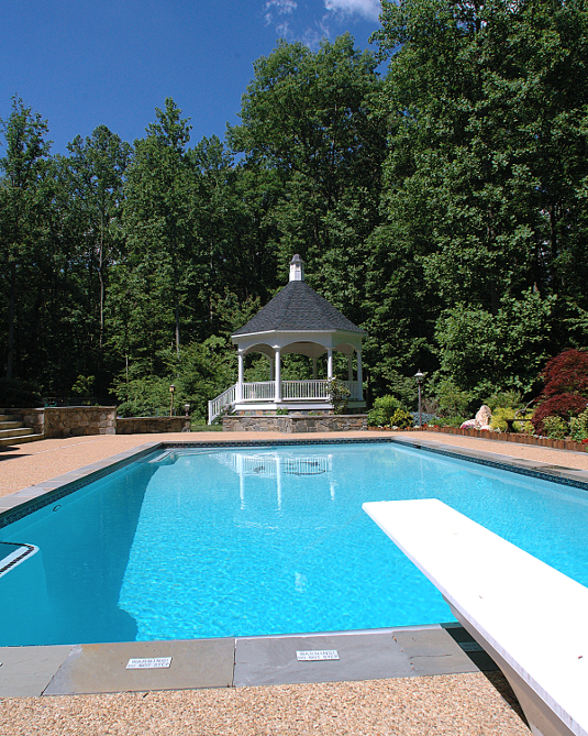 Fairfax, VA Pool and Gazebo